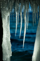Icicles on Incline Village Pier